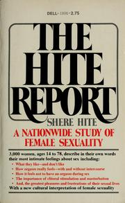 Cover of: The Hite report | Shere Hite