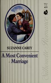 Cover of: A most convenient marriage