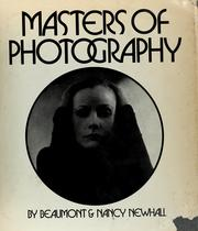 Cover of: Masters of photography | Beaumont Newhall