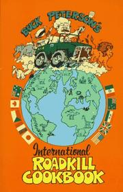 Cover of: The international roadkill cookbook