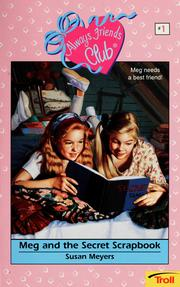 Cover of: Meg and the secret scrapbook