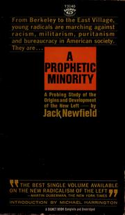 Cover of: A prophetic minority