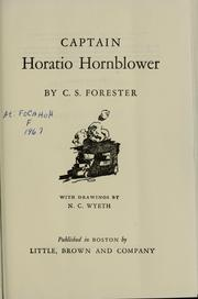Cover of: Captain Horatio Hornblower