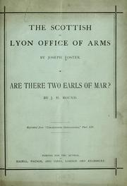 Cover of: The Scottish or Lyon Office of Arms