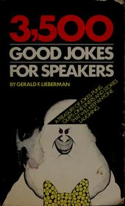 Cover of: 3500 good jokes for speakers