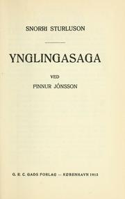 Cover of: Ynglingasaga
