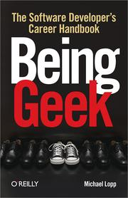 Cover of: Being Geek |