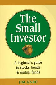 Cover of: The small investor
