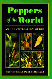 Cover of: Peppers of the world | Dave DeWitt