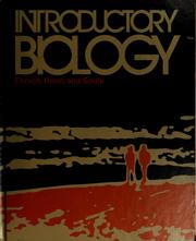 Cover of: Introductory biology