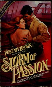 Cover of: Storm of passion by Virginia Brown