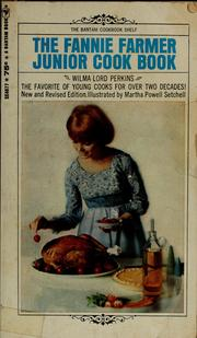 Cover of: The Fannie Farmer junior cook book