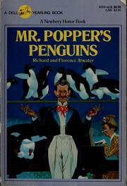 Cover of: Mr. Popper's penguins | Richard Atwater