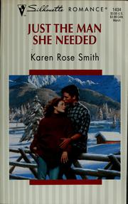 Cover of: Just the man she needed