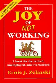Cover of: The Joy of Not Working