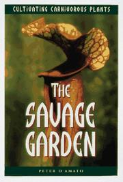 Cover of: The savage garden | Peter D