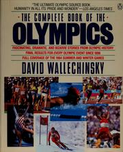 Cover of: The complete book of the Olympics