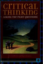 Cover of: Critical thinking