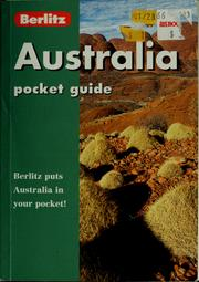 Cover of: Australia by Ken Bernstein