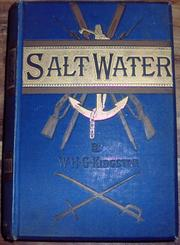 Salt water by W. H. G. Kingston