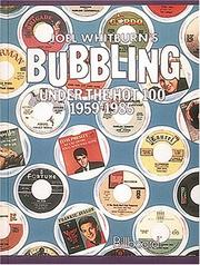Cover of: Joel Whitburn's bubbling under the hot 100, 1959-1985