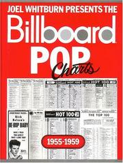 Cover of: Billboard Pop Charts 1955-1959 | Joel Whitburn