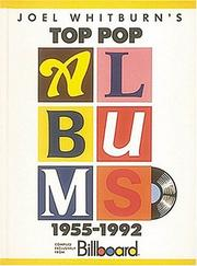 Cover of: Joel Whitburn's top pop albums, 1955-1992