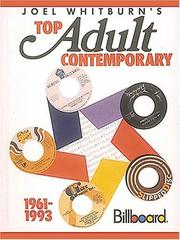Cover of: Joel Whitburn's Top Adult Contemporary 1961-1993