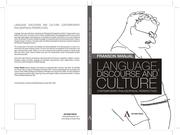 Cover of: Language, Discourse and Culture -- Contemporary Philosophical Perspectives