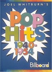 Cover of: Pop Hits 1940-1954