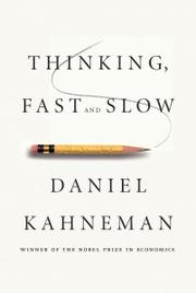 Cover of: Thinking, fast and slow