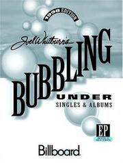 Cover of: Bubbling Under - Singles and Albums - 1998 Edition | Joel Whitburn