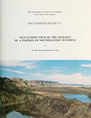 Cover of: Self-Guided Tour of the Geology of a Portion of Southeastern Wyoming by W. Dan Hausel