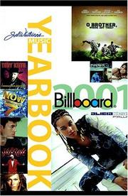 Cover of: 2001 Billboard Music Yearbook (Billboard's Music Yearbook)