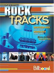 Cover of: Rock tracks