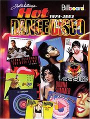 Cover of: Billboard's Hot Dance/Disco 1974-2003
