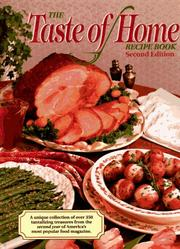 Cover of: The taste of home recipe book |
