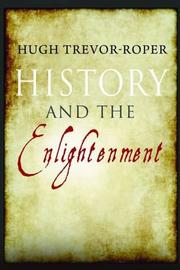 Cover of: History and the Enlightenment