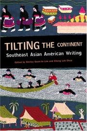 Cover of: Tilting the continent |