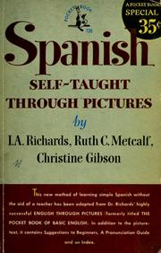 Cover of: Spanish self-taught through pictures