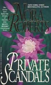 Cover of: Private scandals