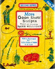 Cover of: More Goon Show scripts