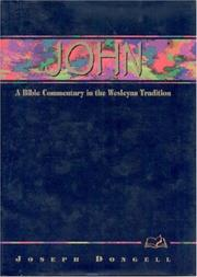 Cover of: John | Joseph Dongell