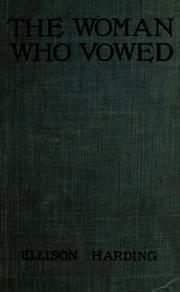 Cover of: The woman who vowed
