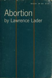 Cover of: Abortion