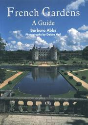 Cover of: French gardens