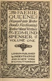 Cover of: The Faerie queene