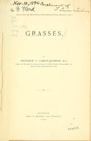 Cover of: Grasses