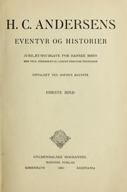 Cover of: H. C. Andersens Eventyr og historier by Hans Christian Andersen
