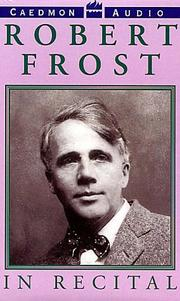 Cover of: Robert Frost in Recital